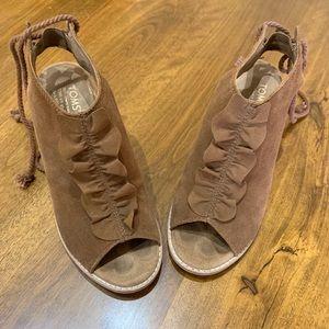 Toms 6.5 heels